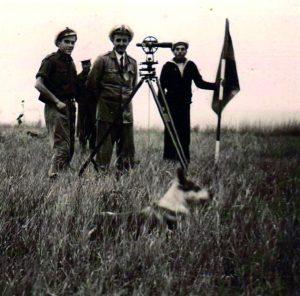 Ovidiu Limbidi, Cetatea Albă 1943 (MINAC, Arhiva Ecaterina Limbidi)